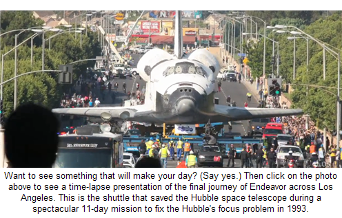 Watch both of the shuttle videos!