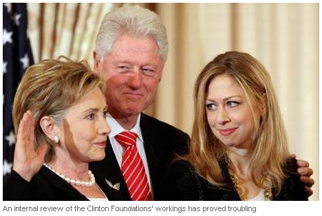 "Clinton Foundation: ""vast vanity project"""