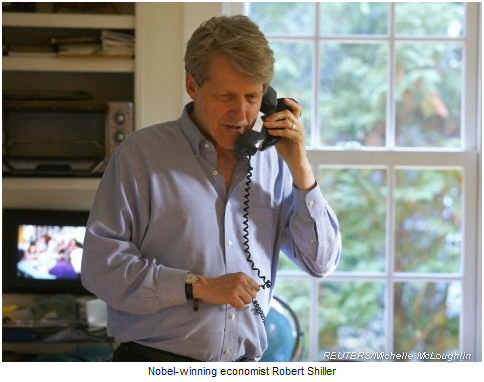 Robert Shiller: Renting is better than buying...