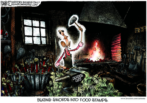 Another spectacular move...but Mr. Obama has someone else actually wielding the hammer...he's not good with tools.