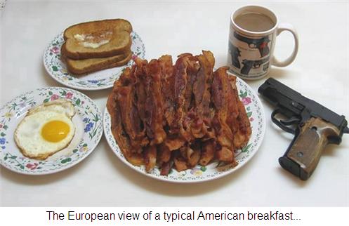 Breakfast in America...
