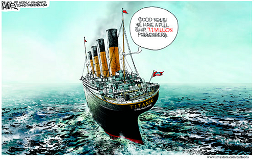 A newer, bigger, better Titanic...