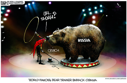 The bear trainer...