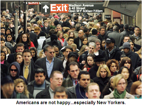 A picture of unhappy Americans...