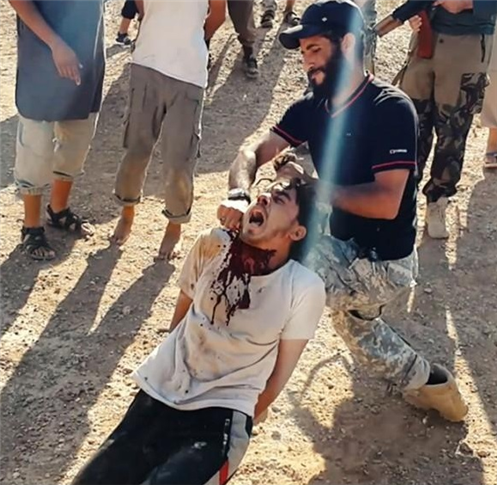 Christian Executed By Muslims In America