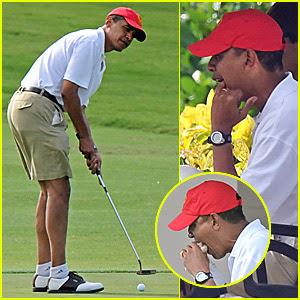 """Mr. """"I'd rather be golfing"""" Obama..."""