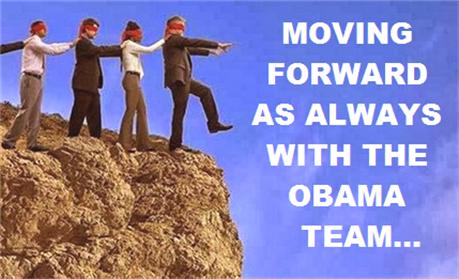 Obama team moving forward...