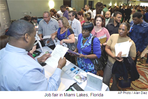 """Government's unemployment rate """"one big lie""""..."""