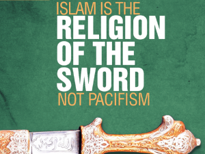 Islam claims it is NOT a religion of peace...