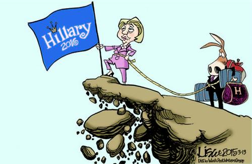 Hillary's baggage...