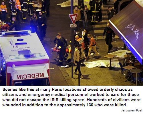 Paris terrorist attack