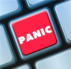Panic button time in US and around the globe