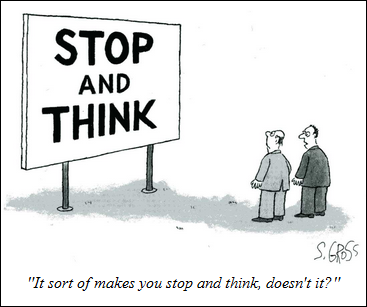 Stop and think...