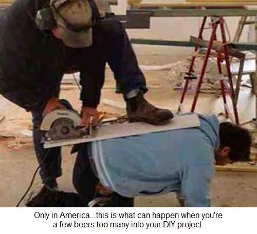 Dumb and Dumber DIY.