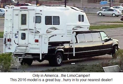 Everybody needs a LimoCamper!