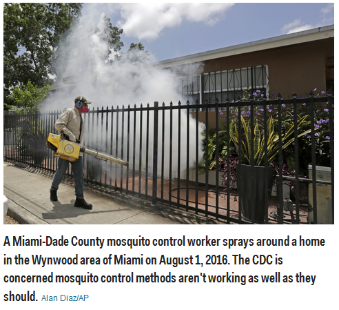 Zika virus spreading in US