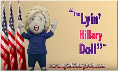 Lyin' Hillary Doll