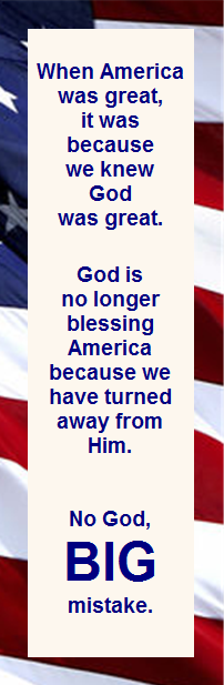 One nation under God? Not so much...
