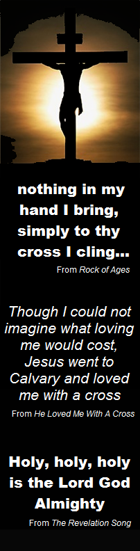 Only to thy cross I cling...