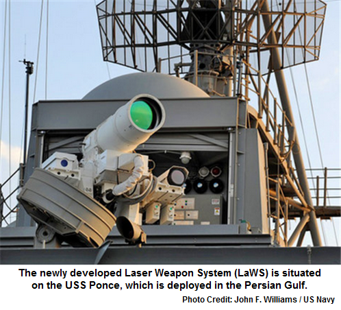 World's first laser weapon now a reality