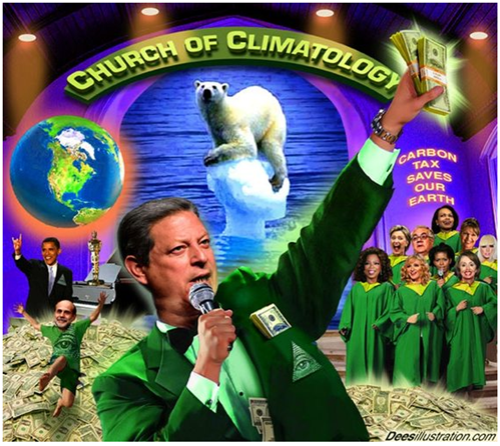 Al Gore still telling the same big lie
