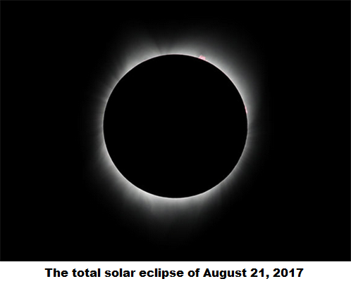 The solar eclipse...