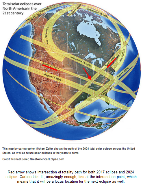 Next solar eclipse to appear in 2024