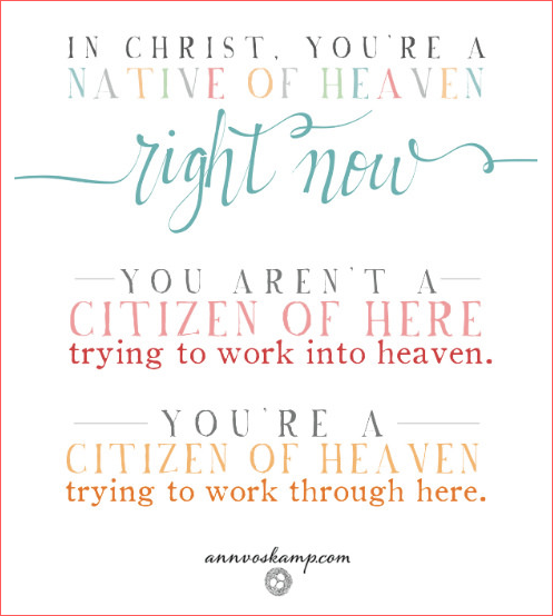from Ann Voskamp