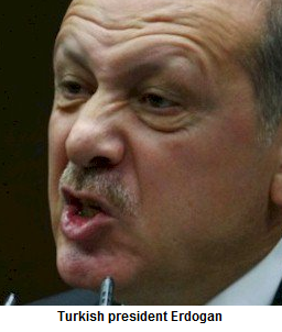 Turkey's president threatens to wipe out the Jews