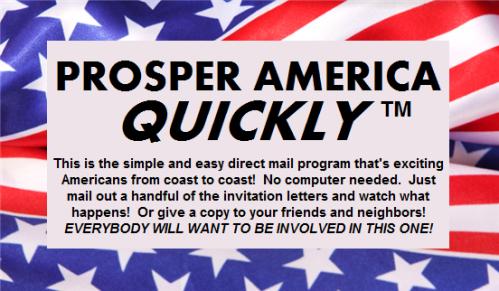 Prosper America QUICKLY graphic