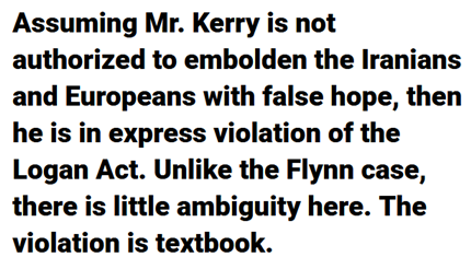 John Kerry should be charged and found guilty...because he is guilty