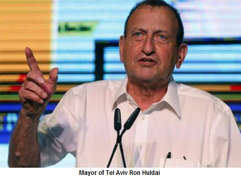 Ron Huldai, mayor of Tel Aviv