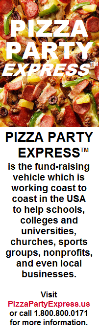 Pizza Party Express is the fundraiser of choice!