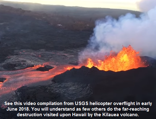 Kilauea volcano changes Hawaii forever