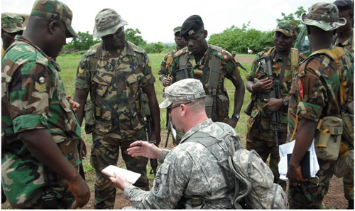 Growing US military presence in Africa
