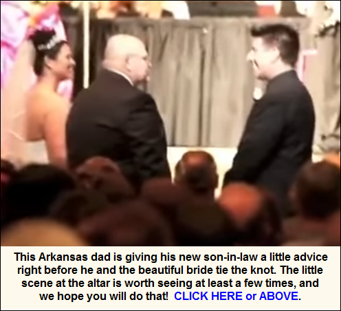 Short speech by bride's dad at the altar on wedding day