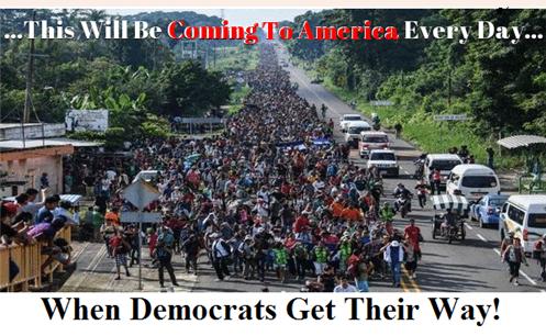 Caravan of commies heading north!