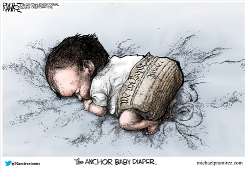 Anchor baby diapers