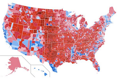 2016 US election map