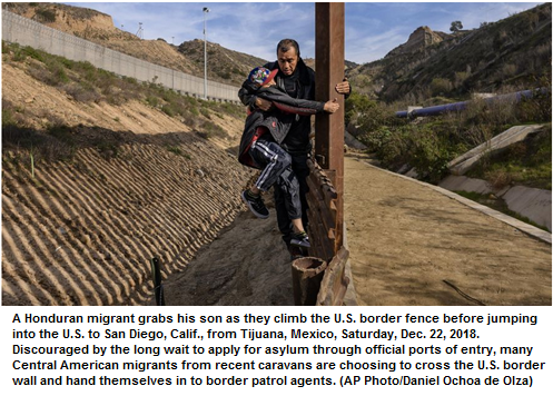 """Record arrests on border show truth of Trump's """"border emergency"""""""