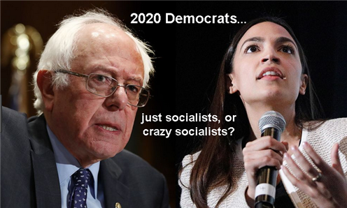 Socialists, or crazy socialists?