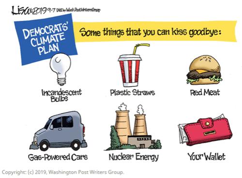 Democrat Climate Plan